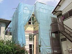 神奈川県川崎市宮前区初山2丁目の賃貸アパートの外観
