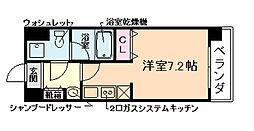 レオンコンフォート新梅田II[9階]の間取り