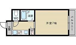 第15東昌ハイツ[2階]の間取り