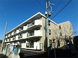 東京都日野市南平6丁目の賃貸マンションの外観