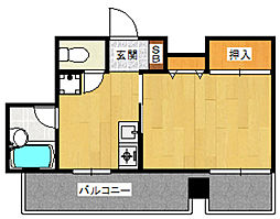 ピアパレス[3階]の間取り