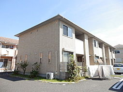 フラッツ秋桜[1階]の外観