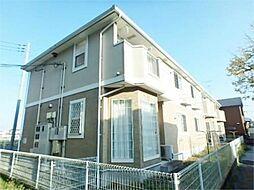 神奈川県相模原市緑区下九沢の賃貸アパートの外観