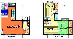 [テラスハウス] 千葉県千葉市稲毛区稲毛町5丁目 の賃貸【/】の間取り