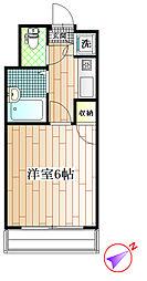 グランデュール富士町B[1階]の間取り