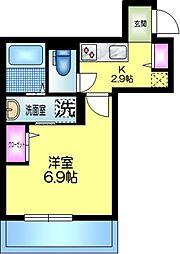 J.maison ジェイメゾン 3階1Kの間取り