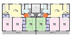 小室団地[1階]の間取り
