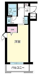 モナークマンション溝ノ口第3[203号室]の間取り