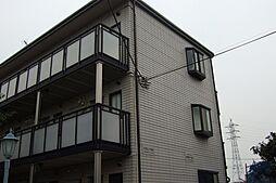 神奈川県川崎市多摩区堰3丁目の賃貸アパートの外観