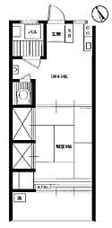 アパートメント正興No.2[2階]の間取り