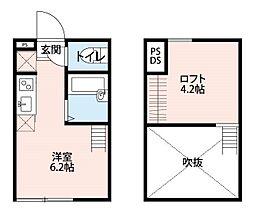 グレイス鎌倉(グレイスカマクラ)[1階]の間取り