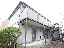 神奈川県綾瀬市寺尾北1丁目の賃貸アパートの外観