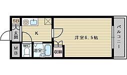 第5中本ビル[2階]の間取り