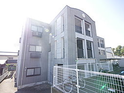 神奈川県厚木市長谷の賃貸マンションの外観
