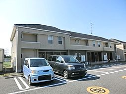 千葉県佐倉市上志津原の賃貸アパートの外観