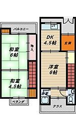 [一戸建] 大阪府堺市北区大豆塚町2丁 の賃貸【/】の間取り