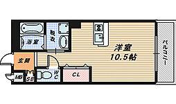 マンション美侑[2階]の間取り