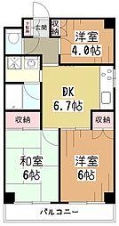 宮寺ビル[2階]の間取り