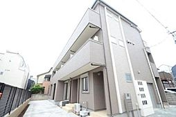 東京都品川区西中延3丁目の賃貸アパートの外観