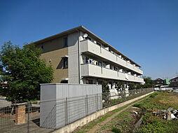 埼玉県狭山市広瀬1丁目の賃貸アパートの外観