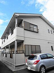 金子ハイツA[1階]の外観