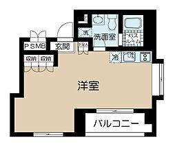 カイザー赤坂[2階]の間取り