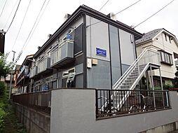 埼玉県所沢市西所沢2丁目の賃貸アパートの外観