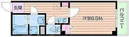 プラディオ成育[3階]の間取り