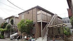 東京都八王子市並木町の賃貸アパートの外観