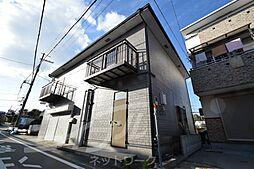 大阪府箕面市小野原東1丁目の賃貸アパートの外観
