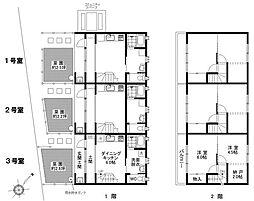 柿の家荘[2階]の間取り