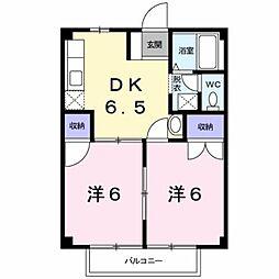 ル・シャトー[2階]の間取り