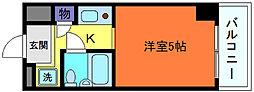 カサベラ岡本[3階]の間取り