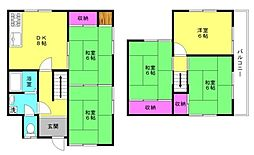 [一戸建] 兵庫県加古川市別府町別府 の賃貸【/】の間取り