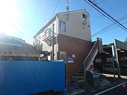 埼玉県川口市鳩ヶ谷本町2丁目の賃貸アパートの外観