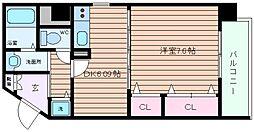CHEZ CLARA[2階]の間取り