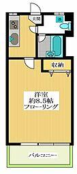 駒場マンション[1階]の間取り