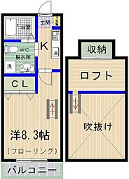 PiAA NAKANO[205号室]の間取り
