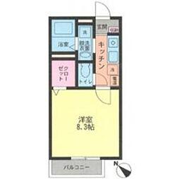 サンオータムII[1階]の間取り