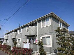 愛知県岡崎市下和田町字高畑の賃貸アパートの外観