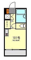 東京都足立区東和3丁目の賃貸アパートの間取り