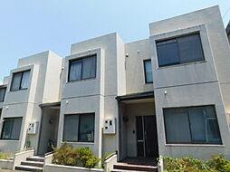 神奈川県厚木市下津古久の賃貸マンションの外観