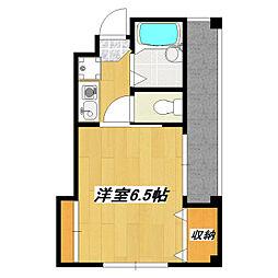 第2永和ビル[401号室]の間取り