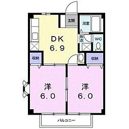サンマリノ[1階]の間取り