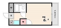 KawaseMansion壱番館[4階]の間取り