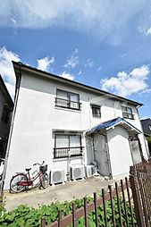 大阪府吹田市千里山高塚の賃貸アパートの外観