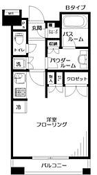 日神デュオステージ桜上水[4階]の間取り