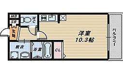 エステート・レイIII[1階]の間取り