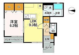 sungroom(スナァグルーム)1階Fの間取り画像
