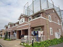 福岡県久留米市北野町十郎丸の賃貸アパートの外観